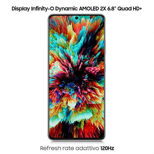 Samsung Galaxy S21 Ultra 5G SM-G998B/DS Dual Physical Sim + Esim 16GB Ram, 512GB Storage GSM Factory Unlocked International Version - Phantom Silver
