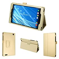 "wisers Insignia - 8"" , NS-P08A7100 tablet case / cover, gold"