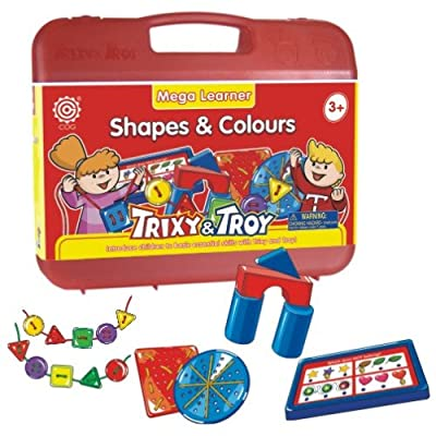 Trixy And Troy Shapes Colors by Tedco