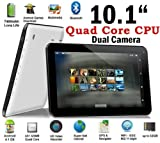 Weize 10.1'' Google Android 4.2 Tablet MID Pc, Allwinner Quad Core A31 CPU up to 1.5ghz, 1gb Ram, 8gb Hdd, Multi-touch Screen, Front Camera + Rear Camera, Google Play Pre-installed, Hdmi 1080p Output, Skype Video Calling, Netflix, Flash Supported (Black)