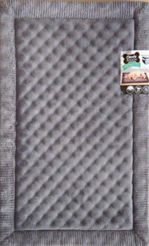 Home Dynamix 3-CPCM-451 Comfy Pooch Crate Mat, 28'' x 42'', Gray