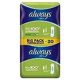 Always Ultra Normal Sanitary Towels 2 x 15 per pack (PACK OF 6)