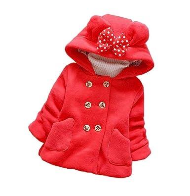 331119758 Giovanna GIO253 Rojo Chaqueta Minnie Mouse para Bebé Ceremonia Ropa  Infantil Talla 18 Meses Primavera Outoño Abrigo Elegante Cereremonia Tacto  Muy Suave ...