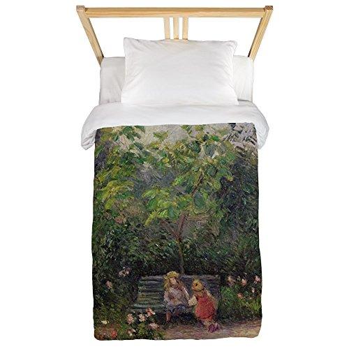 CafePress - Ge, Pontoise, 1877 @Oil On Canvasa - Twin Duvet - Twin Duvet Cover, Printed Comforter Cover, Unique Bedding, Microfiber