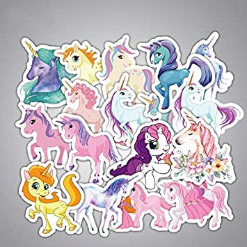 Stickers - 33pcs/Lot Unicorn Stickers Cartoon for Graffiti ...