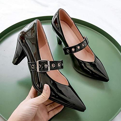 Chaussures Janes Kitten Lydee Mary Noir Escarpins Heel Classiques Femme 7616qwpaz