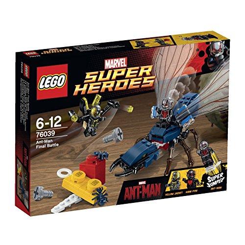LEGO Super Heroes - Marvel - 76039 - Jeu De Construction - Marvel's Ant-man