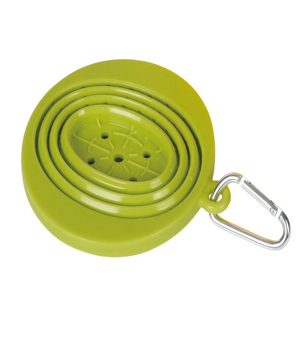 Kuke Collapsible Coffee Filter Holder, Silicone Coffee Dripper with Hook (green) Zhide