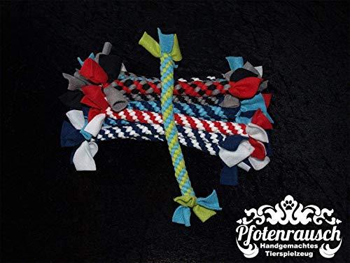 Zerrspielzeug - Zergel für Hunde - türkis/mint