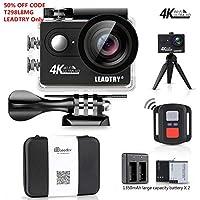 LeadTry HP7R Plus Sport Action Camera WiFi,4K 12MP HD...