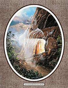 Jigsaw Puzzle 550 Pieces 18 Inch x24 Inch -I Am The Resurrection