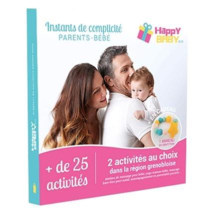 Happy Baby box Coffret Cadeau dActivit/és Parents B/éb/é Cadeau de Naissance 1 Activit/é Grenoble