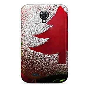 Slim Fit Tpu Protector Shock Absorbent Bumper Christmas Tree Ab Case For Galaxy S4