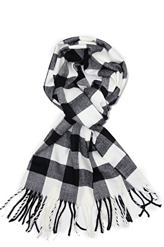 Black & White Plaid Jacket - 5
