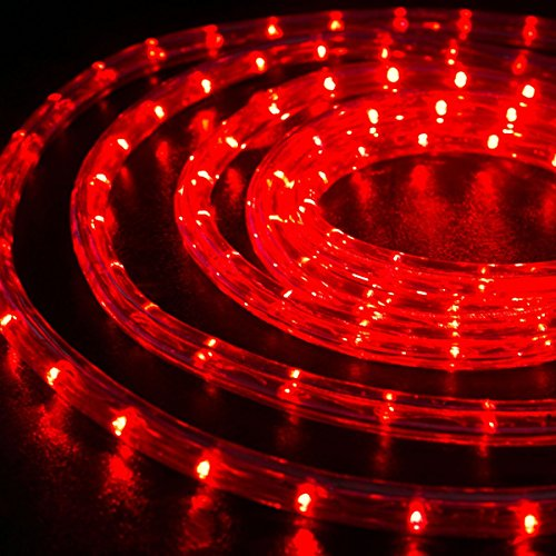 100 Red Led Lights - 6