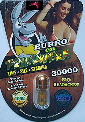 1 Pill Burro En Primavera 30,000 14 DAYS FOR LONGER HARDER ERECTION FOR AN UNFORGETTABLE NIGHT PLUS FREE LOVE POTION EXCLUSIVE PEN
