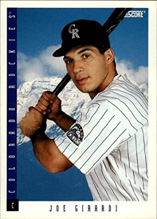 Amazoncom 1993 Score Baseball Card 419 Joe Girardi Mint