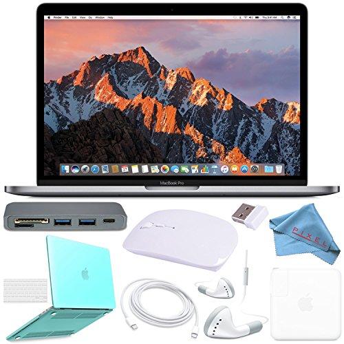 """Apple 128GB SSD 13.3"""" MacBook Pro  MPXQ2LL/A + Turquoise Mac"""