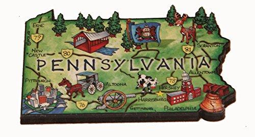 pennsylvania fridge magnet - 4