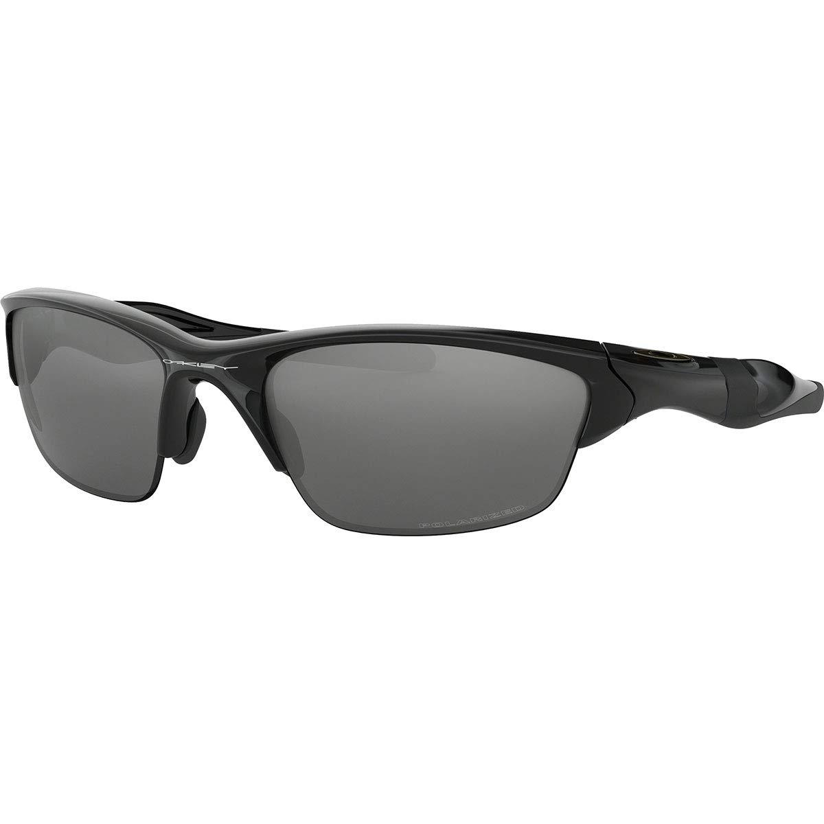Oakley Men's Half Jacket 2.0 Sunglasses,OS,Polished Black/Black Iridium by Oakley