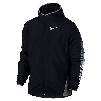 b6cbeedff8027 Nike M Nk City Core Jacket for Man, Black (Black/Dust), L: Amazon.co ...