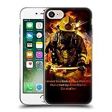 Official Jason Bullard Fireman 2 Firefighter Soft Gel Case for Apple iPhone 5 / 5s / SE