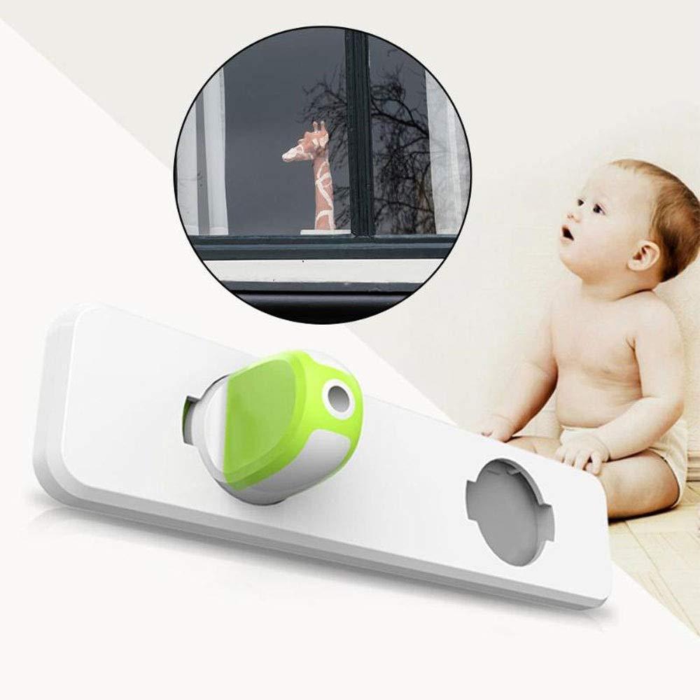 Modenny 5 STÜCKE Fenster Kind Sicherheitsschloss Schiebefenster Schloss Tür Schrank Schrank Kleiderschrank Sicherheitsschutz Schlösser für Baby Sicherheit Requisiten