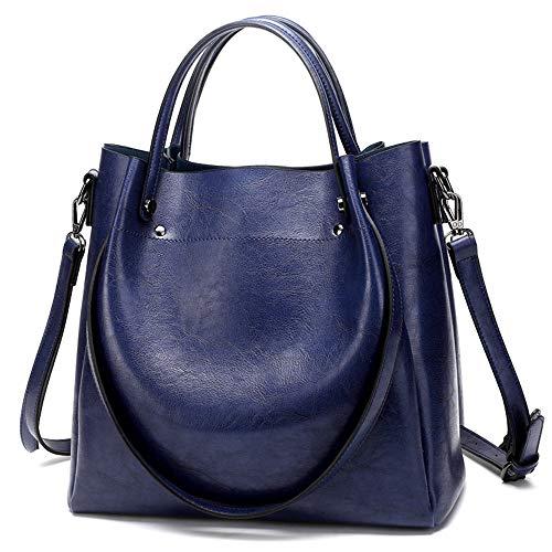 Tracolla Mano A Blu Messenger Borsa colore Borsetta Happyplus1 Donna Blu Per Donna Spalla Bag fxO0qwqE