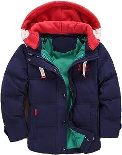 ARAUS Cappotto con Cappuccio Parka Raggazzo Giubbotto Trapuntato da Bimbo Incappucciato Inverno 4-13 Anni 3460P10