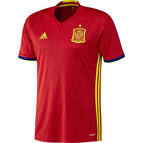 International Soccer Spain Men's Jersey, Small, (Adidas Mens Authentic Football Jersey)