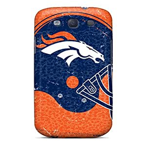 Shockproof Cell-phone Hard Cover For Samsung Galaxy S3 (YkV12439UUVA) Allow Personal Design Nice Denver Broncos Series