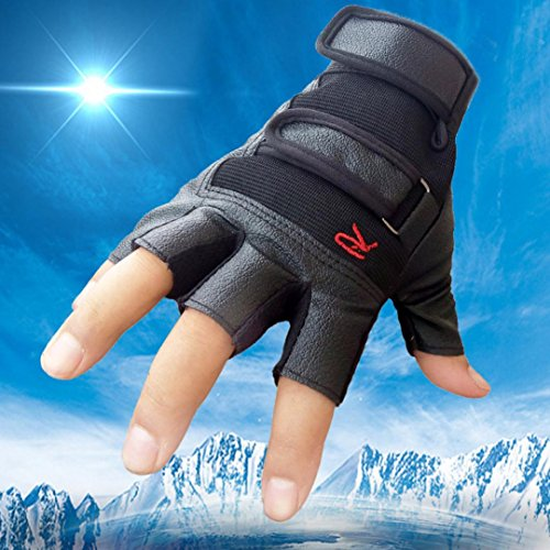 Zombie Gloves Arm Hand & (Men Sports Gloves,ManxiVoo Tactical Outdoor Bike Bicycle Half Finger Leather)