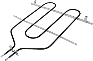 Broil Element Heating Element WB44T10009 Oven Bake Element Replacement by AMI PARTS Compatible with GE Kenmore Oven