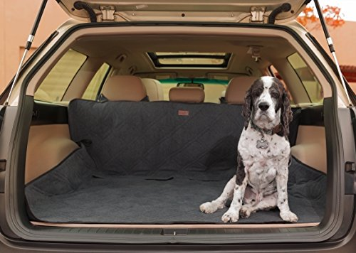 Friends Forever Premium Dog Trunk Cover, Dog Hammock for Back Seat – Reversible Dog Seat Cover for Back Seat with Seat Anchor, Water-Proof & Non-Slip, Black For Sale