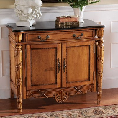 Solid Wood Marble (Design Toscano French Second Empire Console)