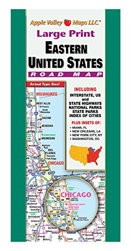road map eastern united states - 4