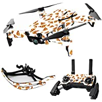 MightySkins Skin for DJI Mavic Air Drone - Body By Pizza | Max Combo Protective, Durable, and Unique Vinyl Decal wrap cover | Easy To Apply, Remove, and Change Styles | Made in the USA