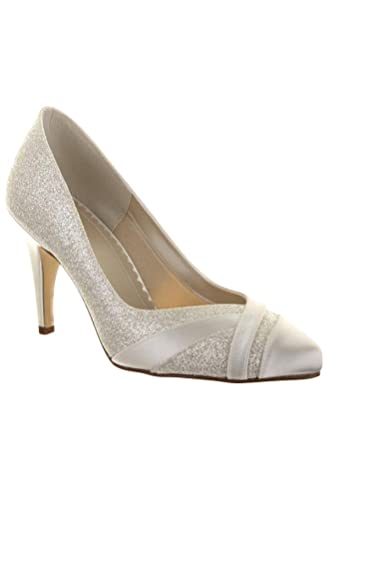 grande collection mignonne les plus récents Dymastyle Chaussure femme escarpin en paillette et tissu ...