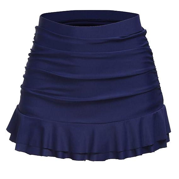 Falda-Pantalon Trajes de baño para Mujer, Mini bañador Falda de ...