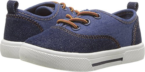 Carter's Maximus Boy's Casual Slip-On Sneaker, Navy, 10 M US Toddler