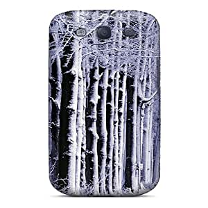 For MichelleNCrawford Galaxy Protective Case, High Quality For Galaxy S3 The Snowy Alley Skin Case Cover