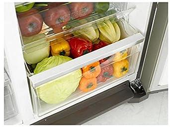 Side By Side Kühlschrank Crushed Ice : Samsung rs7778fhcslef side by side 353 kwhjahr 359 l kühlteil 184