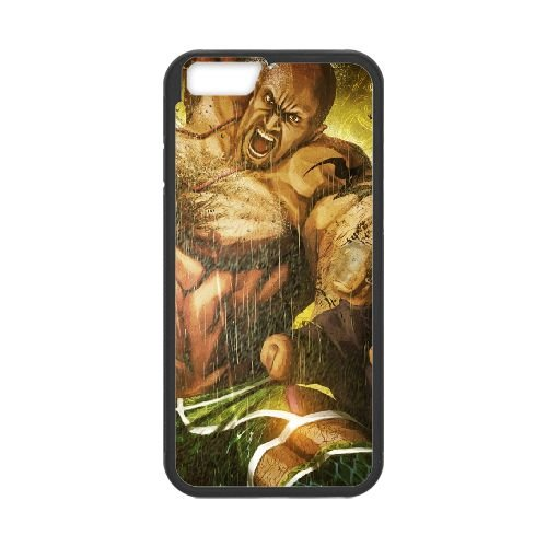 Street Fighter X Tekken Angry Body Muscles 22271 coque iPhone 6 Plus 5.5 Inch cellulaire cas coque de téléphone cas téléphone cellulaire noir couvercle EEECBCAAN04018