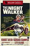 The Night Walker Poster Movie 11x17 Barbara Stanwyck Robert Taylor Lloyd Bochner Hayden Rorke