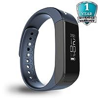 MEVOFIT Drive - Best Fitness Tracker Watch for Men & Women | Smart Watch/Activity Tracker & Fitness Band | Large Wireless Waterproof Fitness Tracker Monitor | Fitness Band