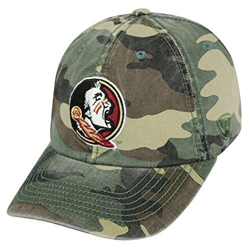 Top of the World Florida State Seminoles Men's Camo Hat Icon, Camo, Adjustable