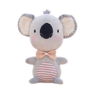 Juguetes de peluche para el bebé Creativo muñeca mejor regalo pequeño animal de peluche gris