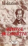 Méditations par Lamartine