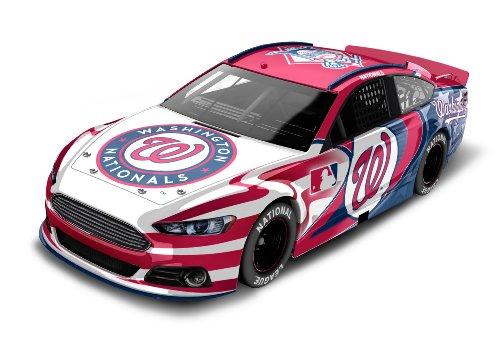 Washington Nationals Major League Baseball Hardtop Diecast Car, 1:64 Scale (Nationals Washington Memorabilia)