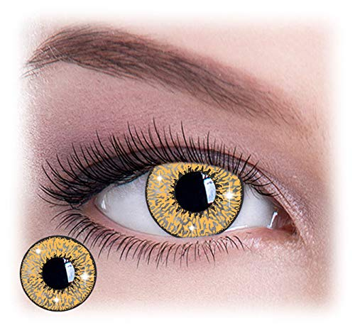 Womens Pair Eye Color Change Eye Accessories Mystic Gold -